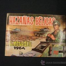 Tebeos: HAZAÑAS BELICAS - ALMANAQUE 1964 - ORIGINAL - EDIC. TORAY - -. Lote 28098580