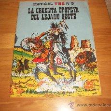 BDs: ESPECIAL TBO LA CRUENTA EPOPEYA DEL LEJANO OESTE 1974 EDITORIAL BUIGAS. Lote 28163635