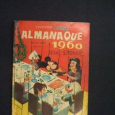 Tebeos: COLECCION DUMBO - WALT DISNEY - ALMANAQUE 1960 - -. Lote 28170965