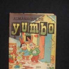 Tebeos: ALMANAQUE DE YUMBO PARA 1957 - EDICIONES CLIPER -. Lote 28177454