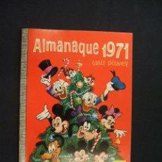 Tebeos: COLECCION DUMBO - WALT DISNEY - Nº 71 - ALMANAQUE 1971 - IMPECABLE, COMO NUEVO -. Lote 28179478