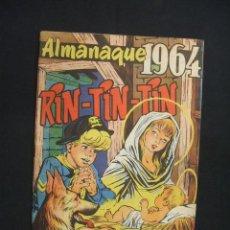 Tebeos: RIN TIN TIN - ALMANAQUE 1964 - ORIGINAL - MARCO 1958 - -. Lote 28227679