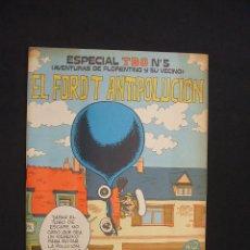 Tebeos: TBO ESPECIAL Nº 5 - EL FORD T ANTIPOLUCION - . Lote 28270069