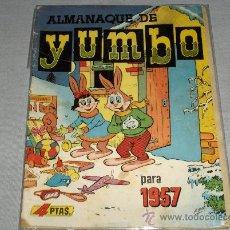 Tebeos: YUMBO ALMANAQUE 1957. 4 PTS.. Lote 28634227