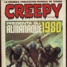 Tebeos: CREEPY ALMANAQUE 1980. Lote 28918789