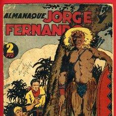 Tebeos: ALMANAQUE JORGE Y FERNANDO 1944 , ORIGINAL, CC3. Lote 29270560