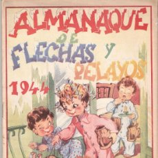 Tebeos: FLECHAS Y PELAYOS - ALMANAQUE 1944 - VER FOTOS ADICIONALES- (C0M-8). Lote 29390458