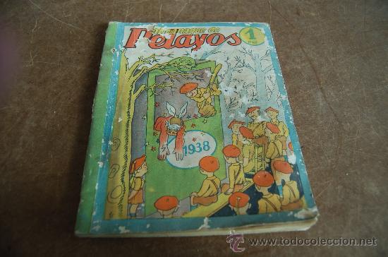 ALMANAQUE PELAYOS 1938, CARLISTA. GUERRA CIVIL. (Tebeos y Comics - Tebeos Almanaques)