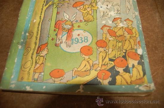 Tebeos: Almanaque Pelayos 1938, carlista. Guerra civil. - Foto 3 - 58285571