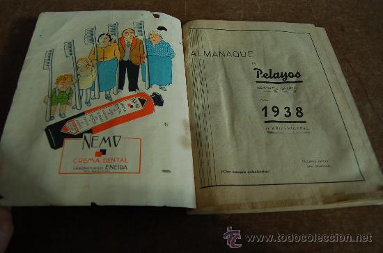 Tebeos: Almanaque Pelayos 1938, carlista. Guerra civil. - Foto 4 - 58285571