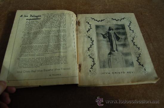 Tebeos: Almanaque Pelayos 1938, carlista. Guerra civil. - Foto 5 - 58285571