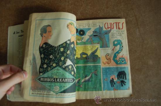 Tebeos: Almanaque Pelayos 1938, carlista. Guerra civil. - Foto 7 - 58285571
