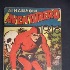 Tebeos: ALMANAQUE AVENTURERO - 1946 - HISPANO AMERICANA -. Lote 30370841