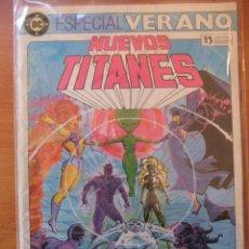 Tebeos: NUEVOS TITANES ESPECIAL VERANO 1984 EDICIONES CINCO. Lote 30480897