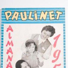 Tebeos: ALMANAQUE PAULINET Nº 2, PUBLICACIÓN INFANTIL, AÑO 1958. Lote 30509268