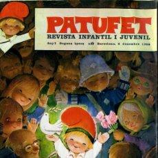 Tebeos: PATUFET NÚMERO CERO - PORTADA DE FERRÁNDIZ (1968). Lote 30531610