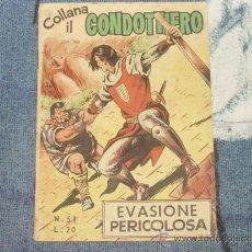 Tebeos: EL CAPITAN TRUENO EN ITALIANO (+ EL PEQUEÑO MOSQUETERO). Lote 30663778