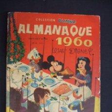 Tebeos: COLECCION DUMBO - ALMANAQUE 1960 - ERSA -. Lote 30690676