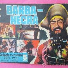 Tebeos: PIRATAS Y CORSARIOS NUM.1 BARBA NEGRA , FANTASIA Y CRUELDAD ,BIOGRAFIA GESTION 1958 , BIEN CONSER. Lote 30838228