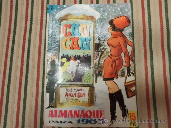 CAN CAN ALMANAQUE 1965 BRUGUERA (Tebeos y Comics - Tebeos Almanaques)