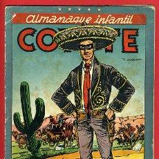 Tebeos: ALMANAQUE EL COYOTE 1948 , CLIPER , ORIGINAL , C95. Lote 31146186