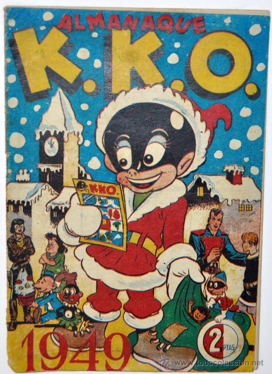 ALMANAQUE DE K.K.O. DEL AÑO 1949. RARISIMO. . EDICIONES HERCULES. ORIGINAL (Tebeos y Comics - Tebeos Almanaques)