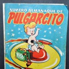 Tebeos: ALMANAQUE DE PULGARCITO DEL AÑO 1953. . Lote 32134143