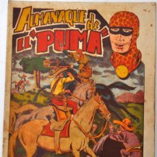 Tebeos: IMPORTANTE ALMANAQUE DE EL PUMA DEL AÑO 1954. EDITORIAL MARCO. CON DIORAMA EN EL INTERIOR. Lote 32136904