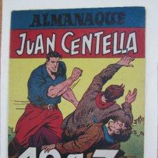 Tebeos: ALMANAQUE , 1947 JUAN CENTELLA Y JORGE Y FERNANDO , HISPANO AMERICANA - COMO, NUEVO. Lote 32171737