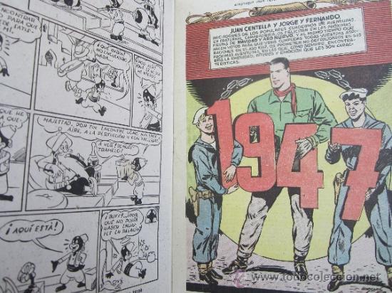 Tebeos: almanaque , 1947 juan centella y jorge y fernando , hispano americana - como, nuevo - Foto 3 - 32171737