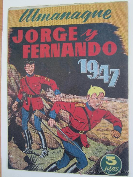 Tebeos: almanaque , 1947 juan centella y jorge y fernando , hispano americana - como, nuevo - Foto 4 - 32171737
