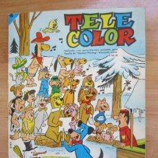 Tebeos: ALMANAQUE TELE COLOR 1965 , BUENA CONSERVACION EN GENERAL. Lote 32170540