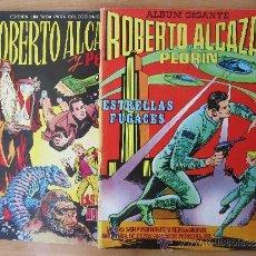 Tebeos: ALBUM GIGANTE , ROBERTO ALCAZAR Y PEDRIN , COMPLETA LOS DOS ALBUNES - VALENCIANA. Lote 32200225