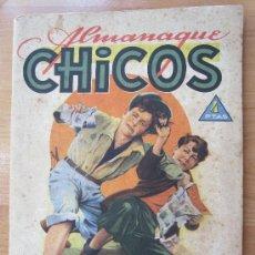 Tebeos: ALMANAQUE CHICOS 1945 , TALLERES OFFSET , SAN SEBASTIAN. Lote 32200305