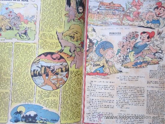 Tebeos: almanaque chicos 1945 , talleres offset , san sebastian - Foto 3 - 32200305