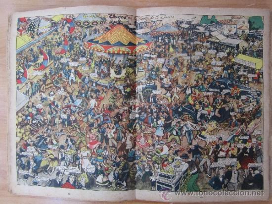 Tebeos: almanaque chicos 1945 , talleres offset , san sebastian - Foto 4 - 32200305
