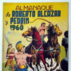Tebeos: ROBERTO ALCAZAR Y PEDRIN - ALMANAQUE AÑO 1960. Lote 32943552