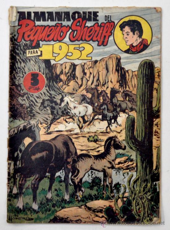ALMANAQUE DEL PEQUEÑO SHERIFF 1952 (Tebeos y Comics - Tebeos Almanaques)