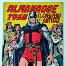 Tebeos: ALMANAQUE DE EL GUERRERO DEL ANTIFAZ 1956.. Lote 32946745