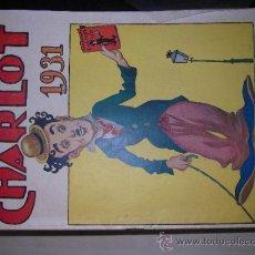 """Tebeos: ALMANAQUE CHARLOT 1931. """"EL GATO NEGRO"""". ESTA SIN ABRIR. IMPOSIBLE ENCONTRAR Y MENOS ASI. Lote 32395619"""