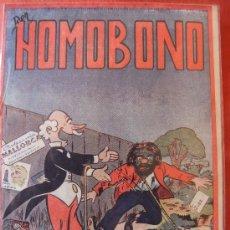 Tebeos: DON HOMOBONO EDICIONES ORGIMA DE VALENCIA, PORTADA DE BROCAL REMOLI. Lote 32820631