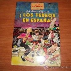 Tebeos: LOS TEBEOS EN ESPAÑA POR JOSE ANTONIO ORTEGA ANGUIANO EDICIONES EL BOLETIN . Lote 33016677