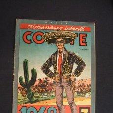 Tebeos: COYOTE - ALMANAQUE 1948 - EDICIONES CLIPÈR - -. Lote 33077882