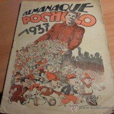 Tebeos: POCHOLO. ALMANAQUE 1937 (COIB98). Lote 33354257