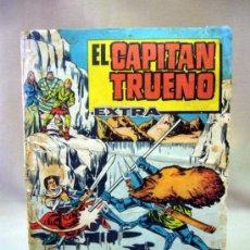 Tebeos: TEBEO ORIGINAL, ALMANAQUE, EL CAPITAN TRUENO, AVENTURA EN LOS ALPES, 1963. Lote 34008307