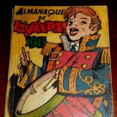 Tebeos: ALMANAQUE DE LEYENDAS 1945, , PERO ALGUN DESPERFECTO EN EL LOMO, ED. HISPANO AMERICANA.. Lote 34303416