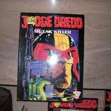 Tebeos: JUEZ DREDD - JUDGE DREDD. ALBUM ESPECIAL MUZAK KILLER A TODO COLOR. CON EL DIBUJANTE JOHN BURNS QUE . Lote 34846029