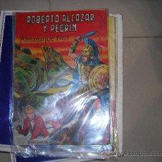 Tebeos: ROBERTO ALCAZAR Y PEDRIN VALENCIANA ALMANAQUE ORIGINAL 1965. Lote 35053283