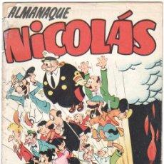 Tebeos: ALMANAQUE NICOLAS 1954 EDI. CLIPER-GERPLA. Lote 35001254