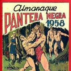 Tebeos: ALMANAQUE PANTERA NEGRA , 1958 , ORIGINAL ,J18. Lote 35348509